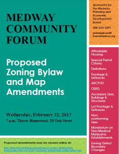 Medway Community Forum flyer