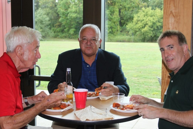 Bill Reardon, Bob Parrella and Andrew Carini