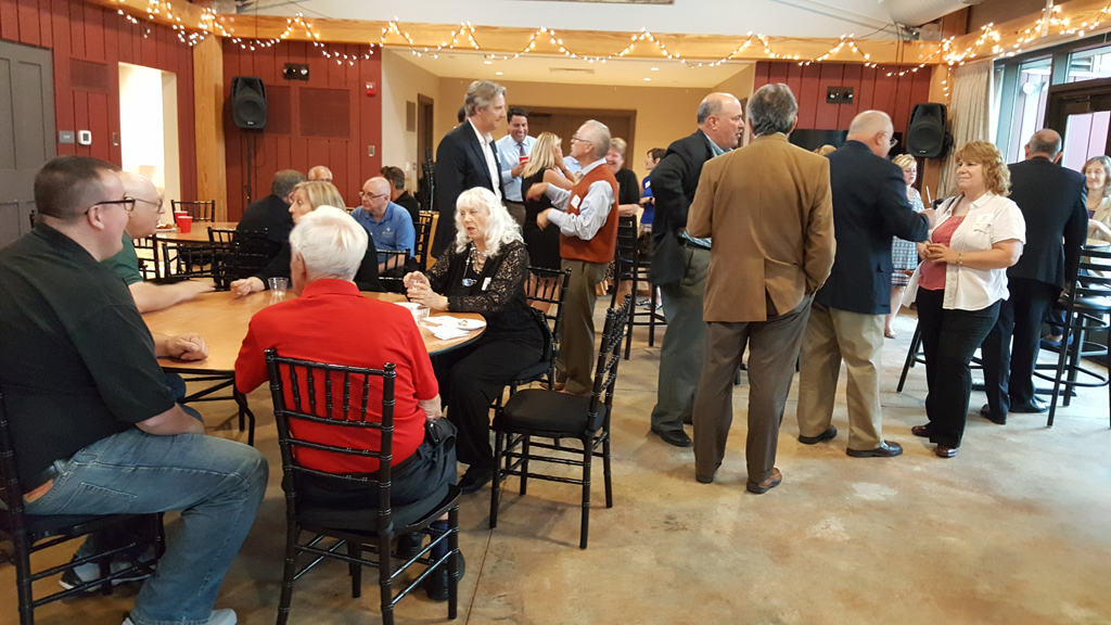 Networking at Thayer Homestead
