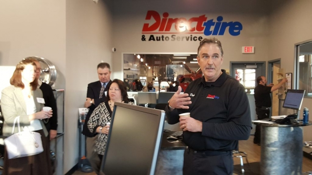 Doug Smith of Direct Tire