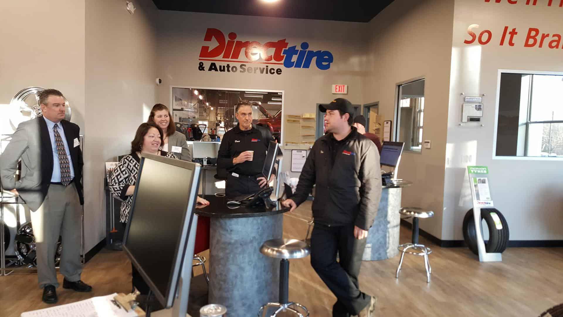 Tim Haynes of Direct Tire