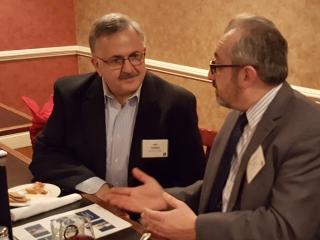 John Haddad and Dr. Cristian Petcu
