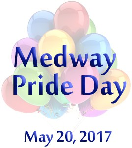 Medway Pride Day May 20